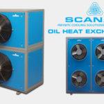 Scanair Oil heat exchanger